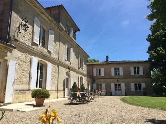 Château du Payre vue depuis la cour