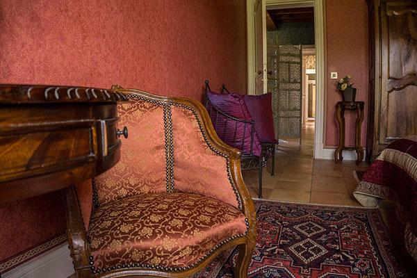 Chambre d'hôte Merlot, fauteuil