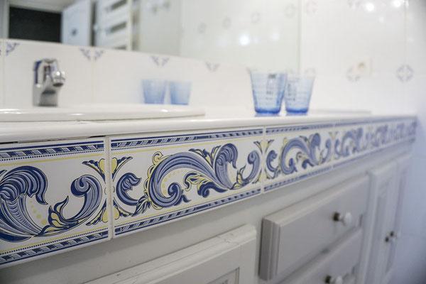 Suite familiale Chambre d'hôte Sauvignon Semillon, salle de bain