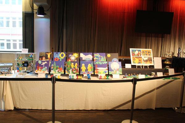 Ausstellung der Blocksteinbibel