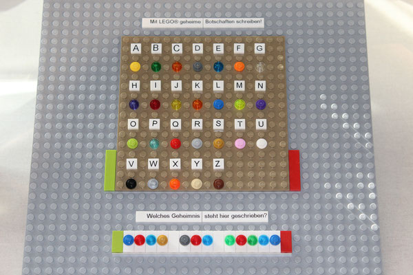 Farb-Code-Spiel aus Lego! - Wie ist deine Lösung?