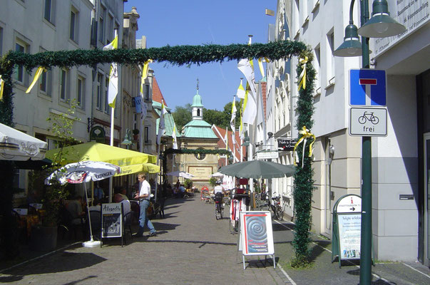 Weiter ging es nach Telgte (Wallfahrtskirche), wo ich mir in einer Buchhandlung gleich den Roman von Grass holte.