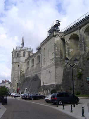 Letzte Etappe:  Amboise (mit Burganlage)