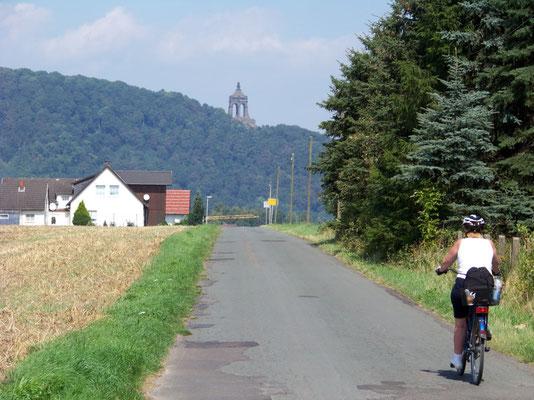 Unterwegs zur Porta Westfalica