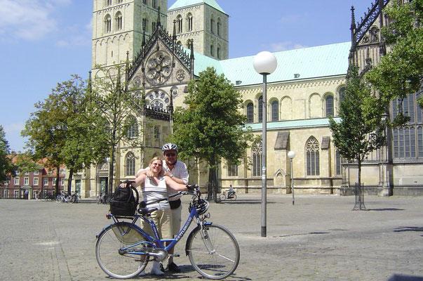 Münster - auf dem Domplatz