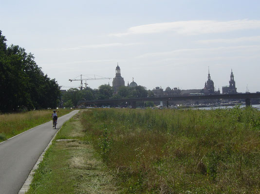 Der Canaletto-Blick auf Dresden