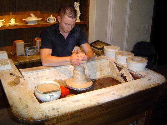 Schauwerkstatt der Porzellanmanufaktur in Meißen