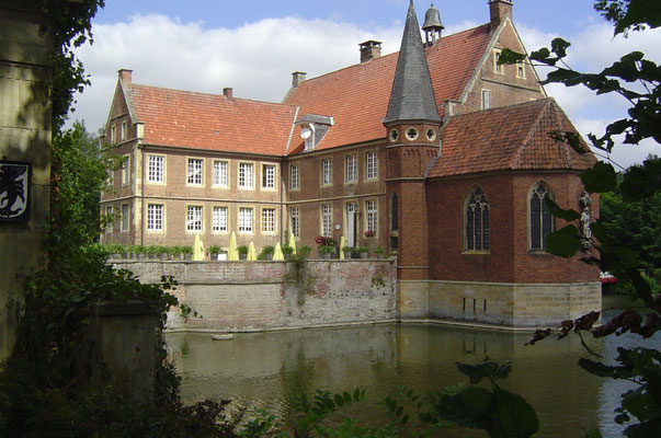 Schloss Hülshoff - ein Schloss, das man auch besichtigen kann, ...