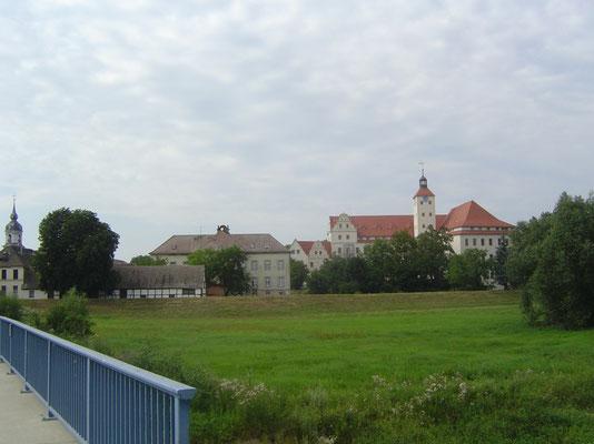 Am Nachmittag erreichten wir nach 46 km den kleinen Ort Pretzsch.