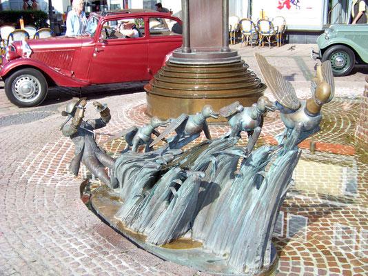 Bodenwerder- Motiv am Münchhausen-Brunnen