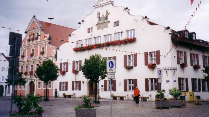Ankunft in Kelheim; wir übernachten im Hotel Klosterbrauerei Seitz.