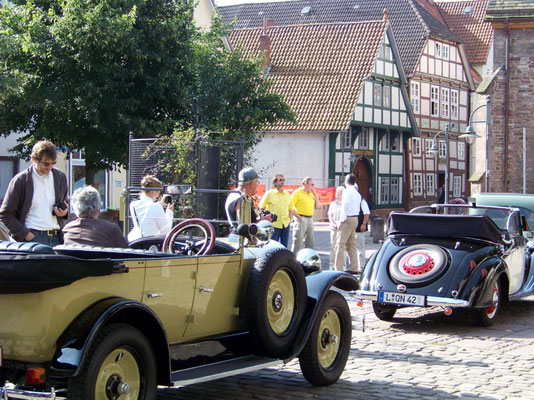Oldie-Parade in Bodenwerder