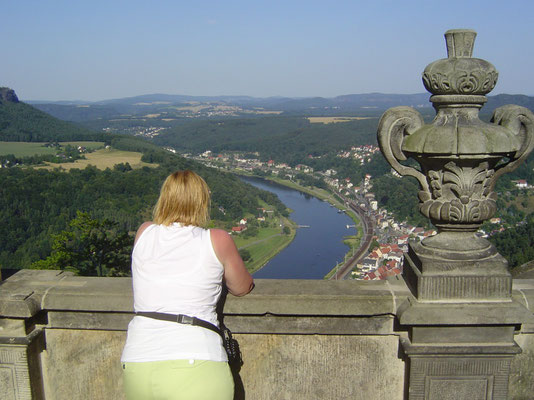 Blick von der Festung nach Süden