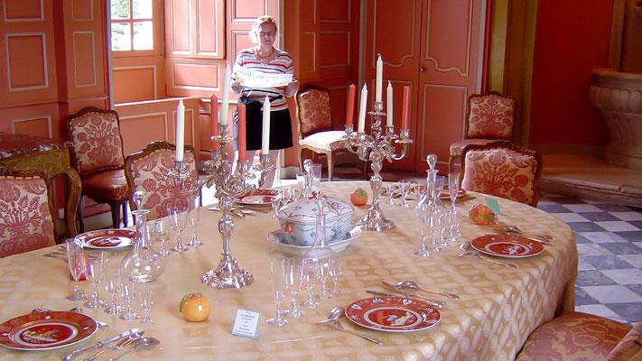Speisezimmer in Schloss Villandry