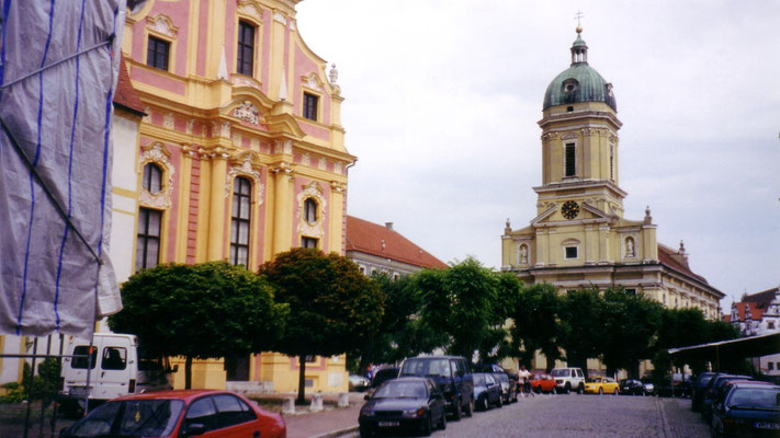 3. Tag: Mittagspause machen wir in Neuburg