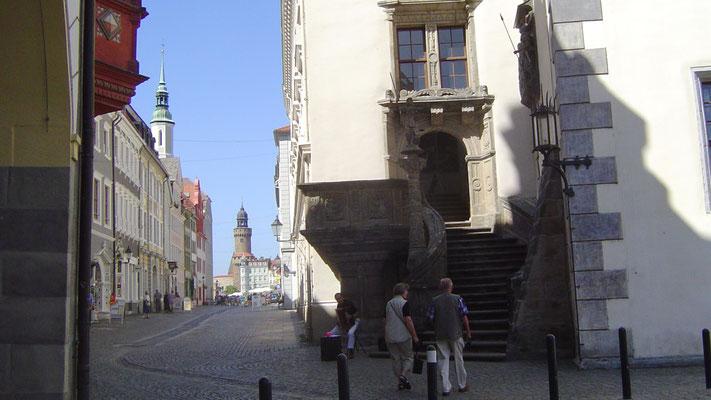 Görlitz: Das Rathaus am Untermarkt