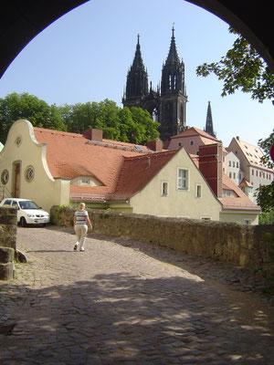 Der Dom und die Albrechtsburg bilden die Hauptattraktionen Meißens