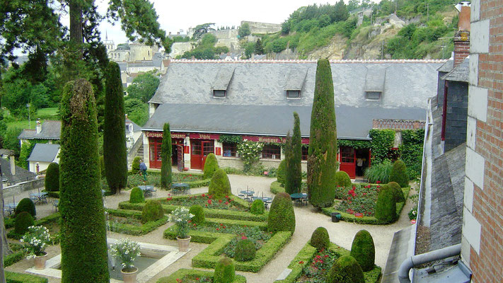 Dies war der Wohnsitz Leonardo da Vincis in seiner Zeit in Frankreich.