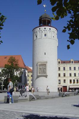 Der Dicke Turm in Görlitz war Teil der Stadtbefestigung