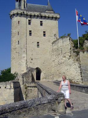 Die Festung über Chinon