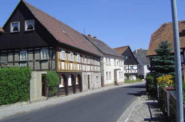 Typisch für die Region: Umgebindehäuser