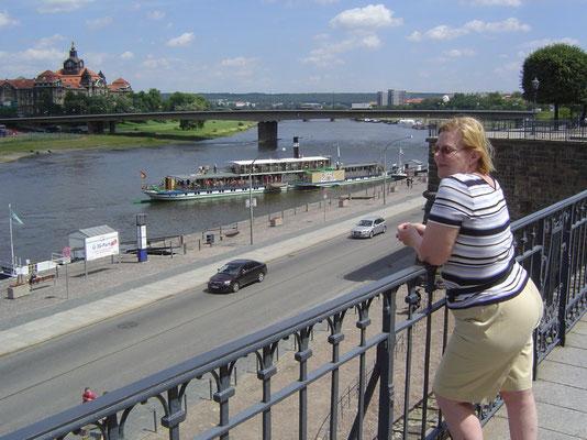Dresden - auf den Brühlschen Terrassen
