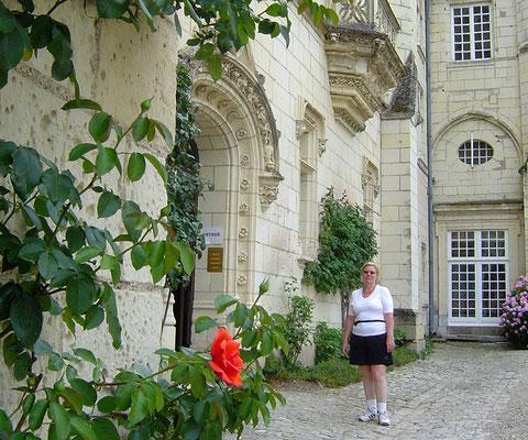 Christine und die letzte Rose am Schloss Ussé