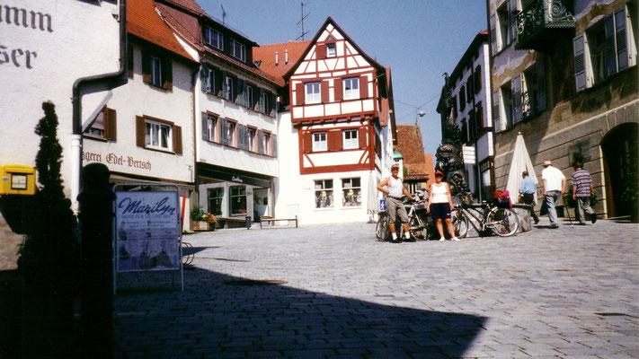 Um 11:30 Uhr sind wir bereits in Riedlingen (ca. 35 km).