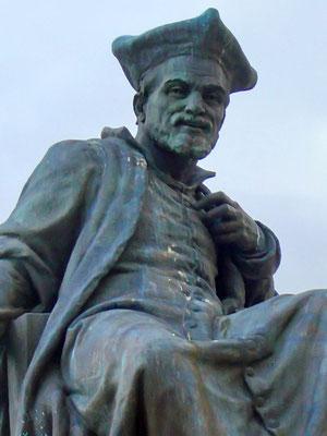 Der Arzt, Lebemann und Dichter Francois Rabelais - ein Sohn der Stadt Chinon