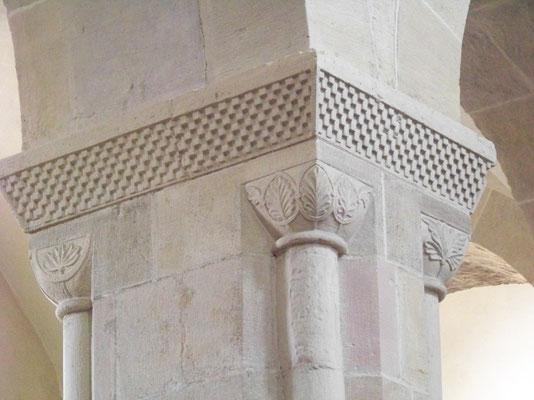 """Die Gewölbedecke und das Pfeilerschema gingen als """"Lippoldsberger Schema"""" in die Geschichte der Baukunst ein"""
