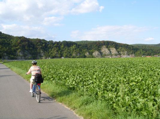 Unterwegs am Weserdurchbruch