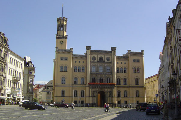 Rathaus in Zittau - mit südlichem Flair fast wie in Italien