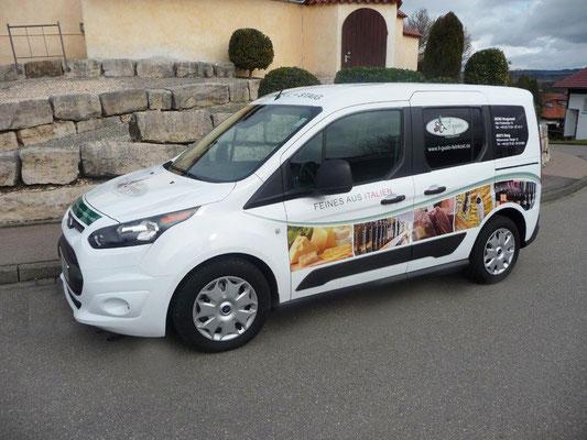 Auto-Werbung für il gusto-Feines aus Italien