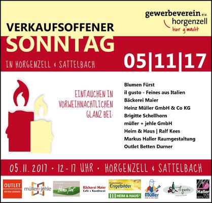Anzeigen für Gewerbeverein Horgenzell