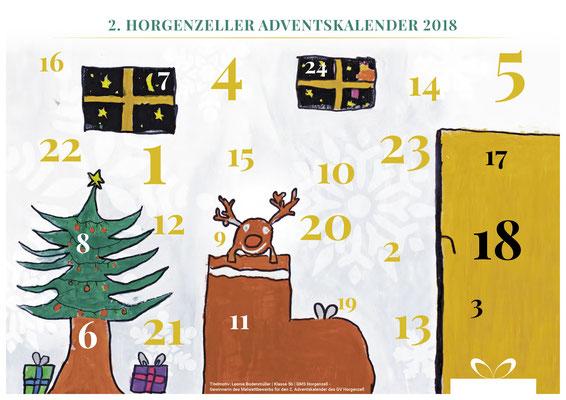 der Horgenzeller Adventsspendenkalender mit der Spende von M4U