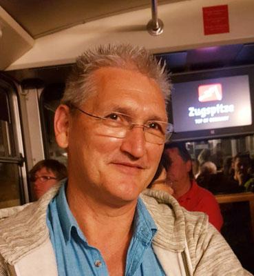 Andy Strobel, der glückliche Gewinner des Hörnerschlittens