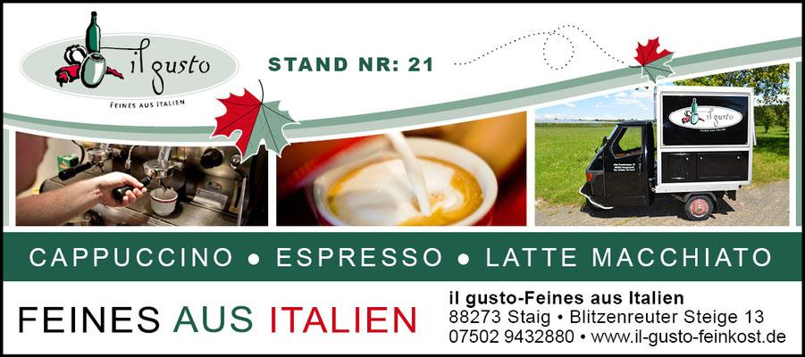 Anzeigen für il gusto - Feines aus Italien