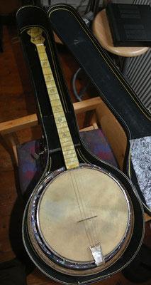 1930s Concertone Plectrum Banjo