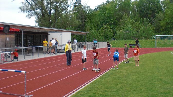 Leichtathletik auswärts (in Thalwil)