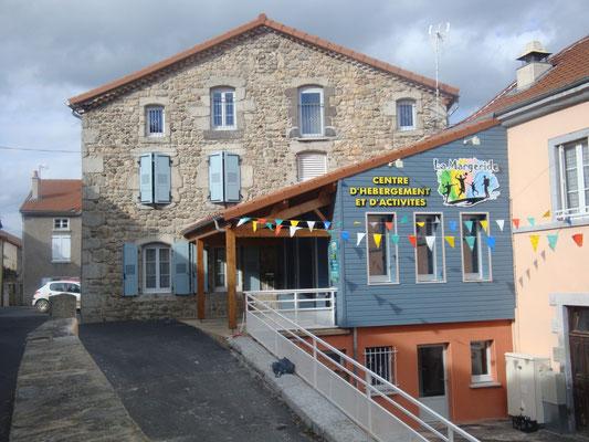 Accueil du Centre La Margeride, groupe, séjour scolaire, Saugues, Haute-Loire