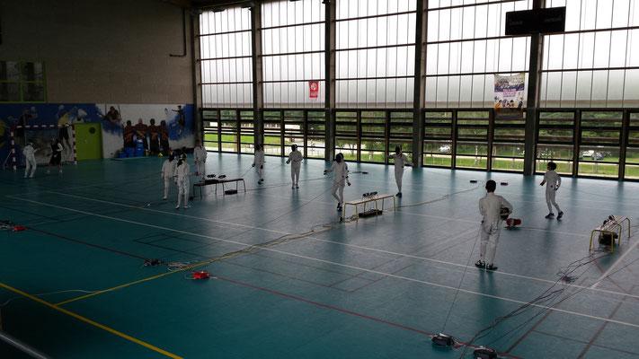 hall des sports, séjour sportif, Saugues, Centre La Margeride, Auvergne