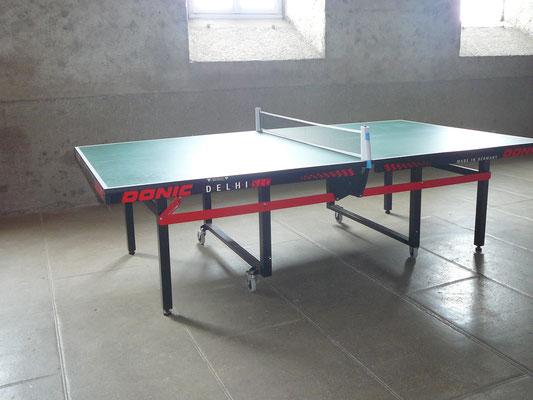 salle de jeux, ping-pong, La Margeride Saugues Auvergne