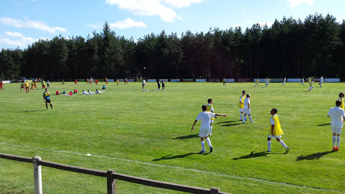 Stage de foot, Centre La margeride, Saugues, Auvergne