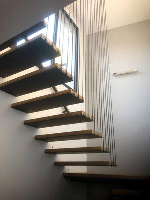 Conception escalier en bois à nimes