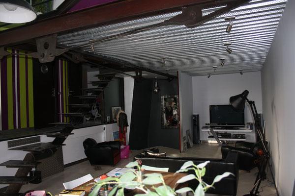 comment refaire un plafond en mauvais état
