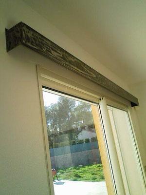 tringle a rideaux a rail