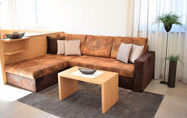 appartamento Heidi divano