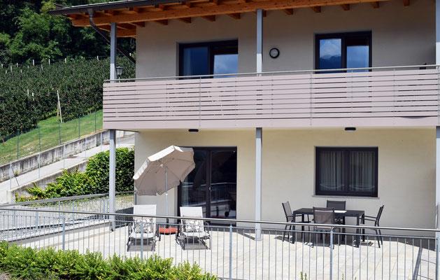 appartamento Anna terrazza
