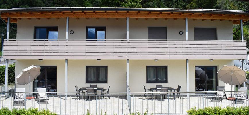 appartamento Ida balcone (in alto a destra)