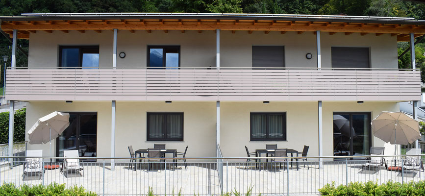 appartamento Heidi balcone (in alto a sinistra)